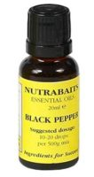 Black Pepper ulje  20 ml.