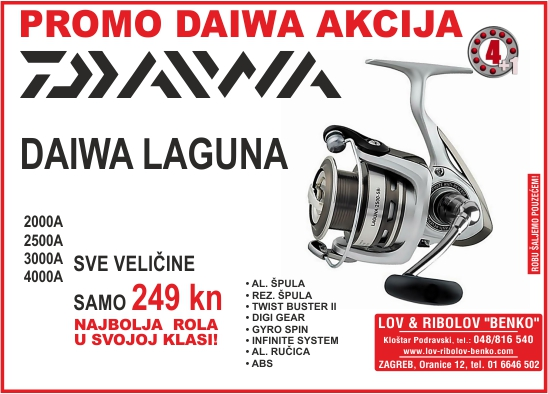daiwa laguna akcija