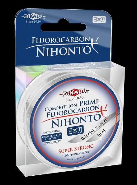 100% FLUOROCARBON NIHONTO 30m-0,12mm