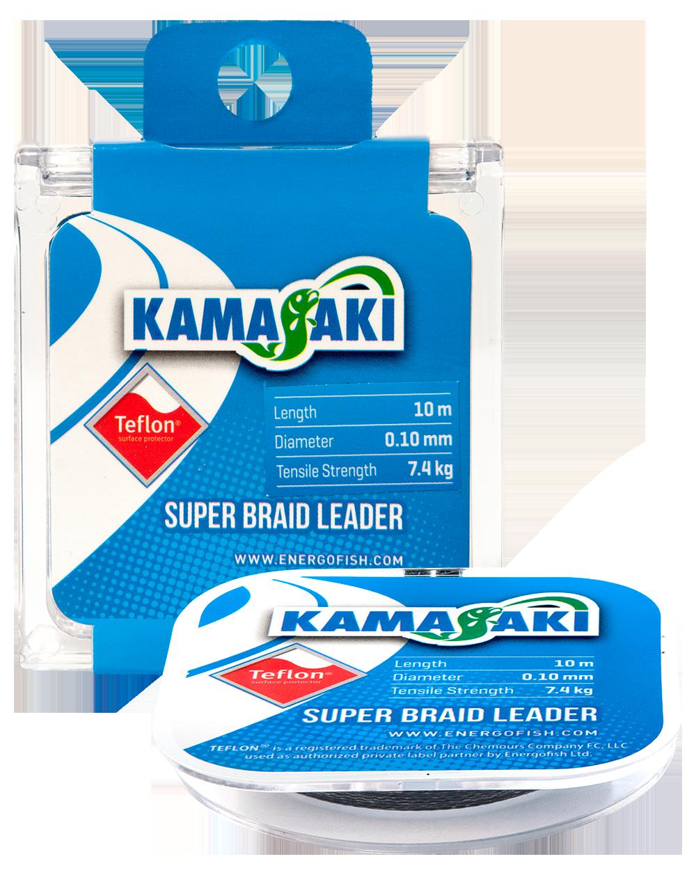 KAMASAKI SUPER BRAID LEADER 10M