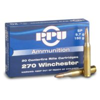 PPU 270WIN. SP 9,7GR.