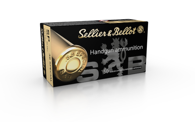 S&B .38 SPECIAL SP 10,25GR.