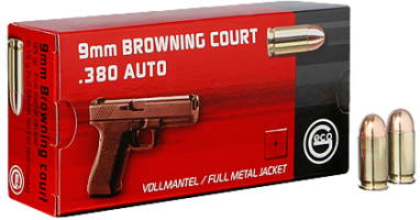 GECO 9MM COURT FMJ 6,15GR.(KRATKI)