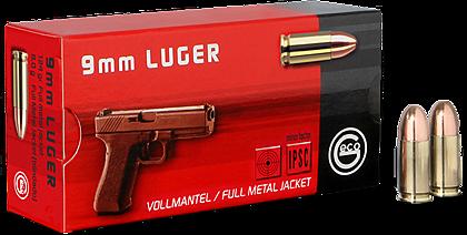 GECO 9MM LUGER FMJ 8GR.