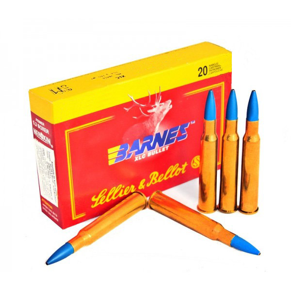 S&B 7X64 BARNES XLC 10,4GR