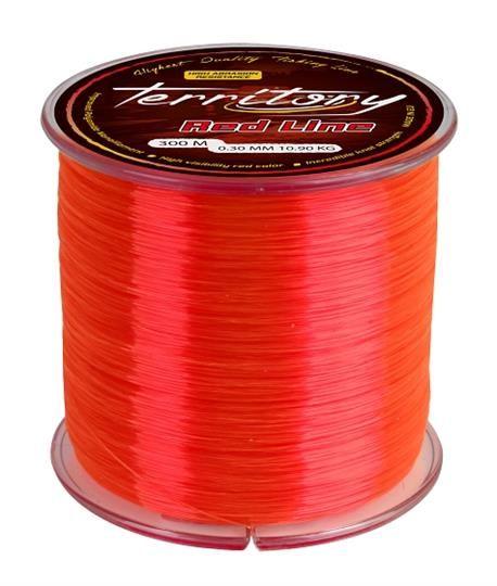 MIKADO TERRITORY RED NAJLON 600M/0,24-0,40MM