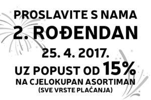 ROĐENDANSKI POPUSTI U TRGOVINI BENKO!!!