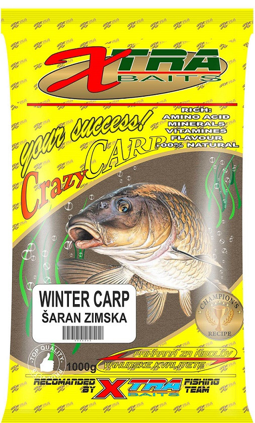 XTRA CRAZY CARP WINTER 1KG-ZIMSKA