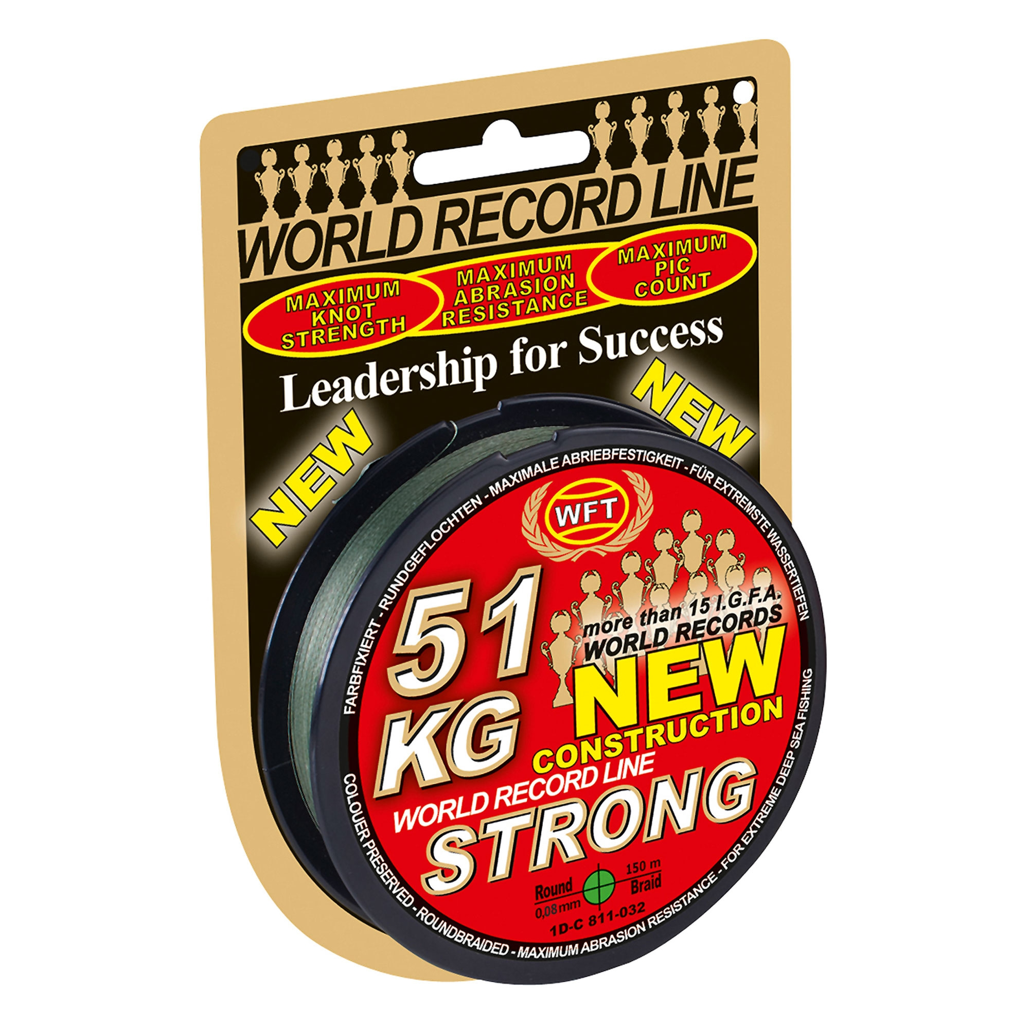 WFT NEW STRONG UPREDENICA 150M/0,18-0,22MM