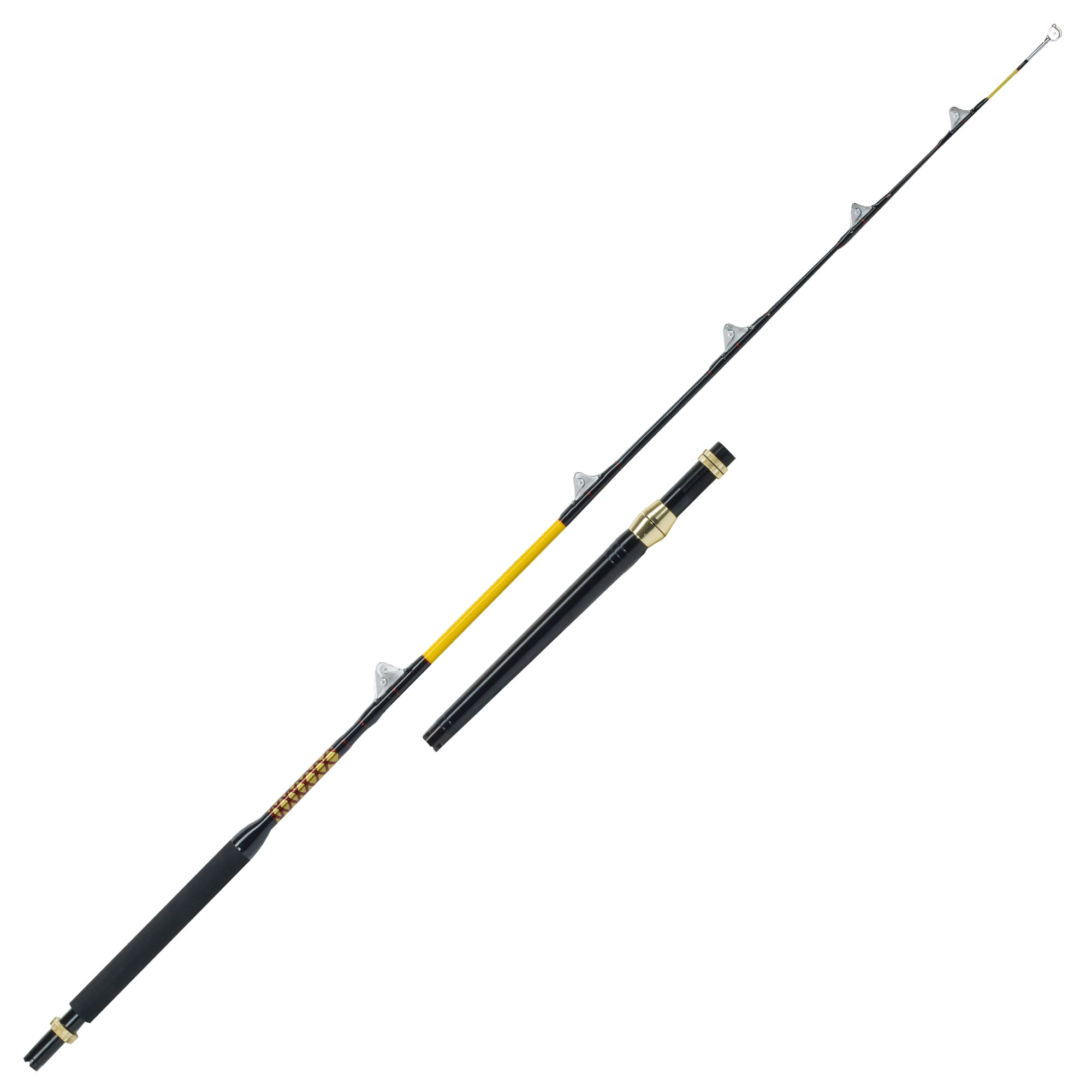WFT NEVER CRACK BLUE WATER 7″/210CM-80LBS