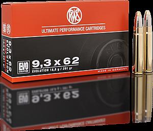 RWS 9,3X62 EVOLUTION 18,8GR.