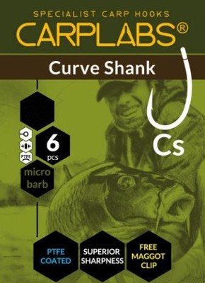 CARPLABS CURVE SHANK TEFLON UDICE 4-6