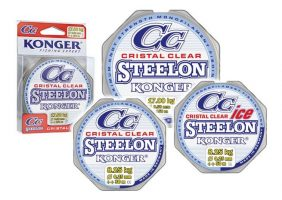 KONGER STEELON CRYSTAL CLEAR FC COATED 0,16-0,28MM/150M