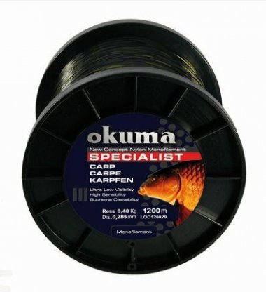 OKUMA CARP SPECIALIST NAJLON 0,43MM/1200M