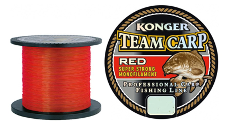 KONGER TEAM CARP RED 0,25MM/1000M
