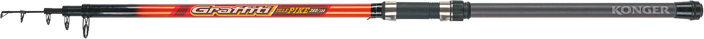 KONGER GRAFFITI TELE PIKE 360CM/120G
