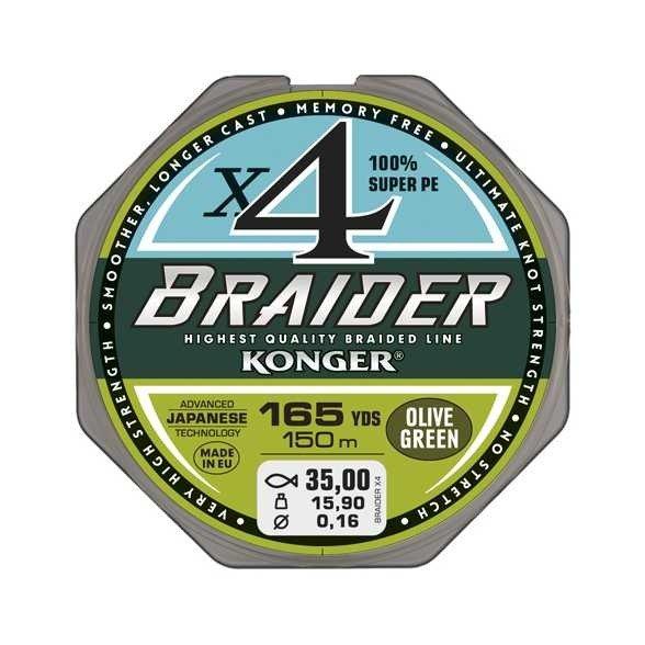 KONGER BRAIDER SX4 UPREDENICA 0,16-0,18MM/10M