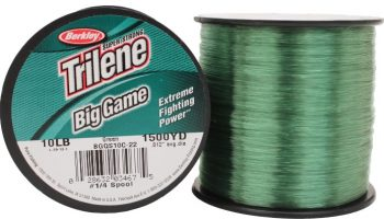 BERKLEY TRILENE BIG GAME GREEN NAJLON 0,29-0,55MM