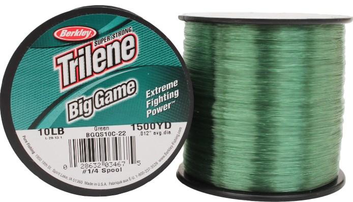 BERKLEY TRILENE BIG GAME GREEN NAJLON 0,29-0,55MM