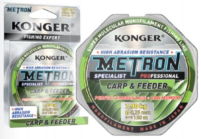 KONGER METRON SPECIALIST CARP&FEEDER 0,22-0,25MM/150M