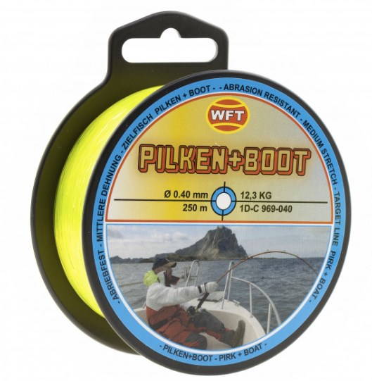 WFT MONOFILAMENT PIRK+BOAT 0,50MM/200M