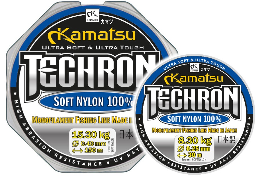 KAMATSU TECHRON SOFT NAJLON 0.10-0.14MM/150M