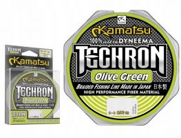 KAMATSU TECHRON OLIVE GREEN UPREDENICA 0,18-0,22MM/100M