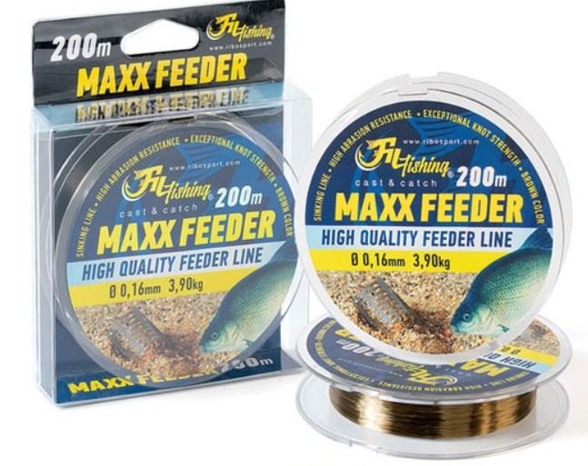 FIL FISHING MAX FEEDER NAJLON 0,18-0,22MM/200M