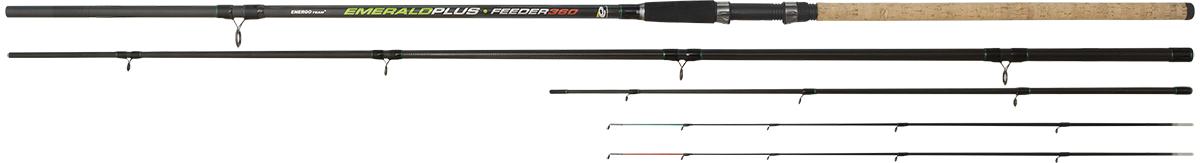ENERGO TEAM EMERALD MEDIUM FEEDER 3.60M 3+2SEC.