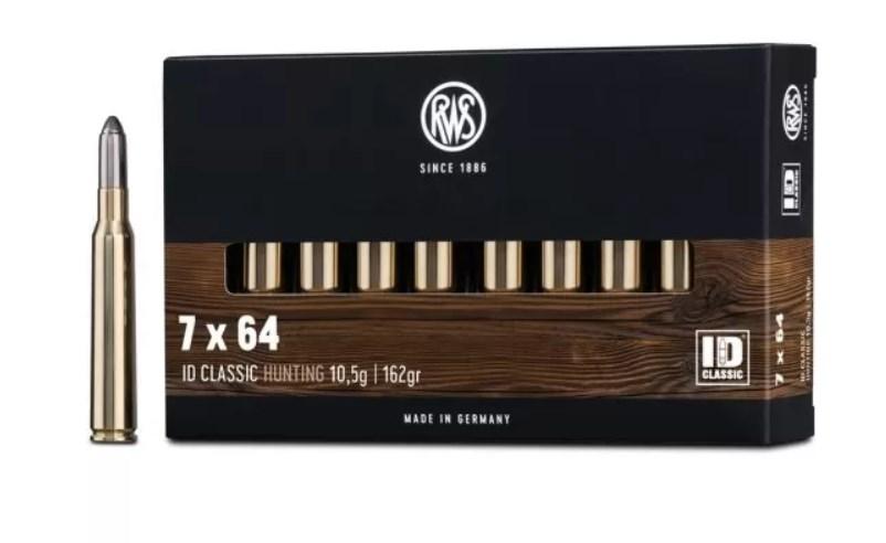 RWS 7X64 ID CLASSIC 10,5GR.
