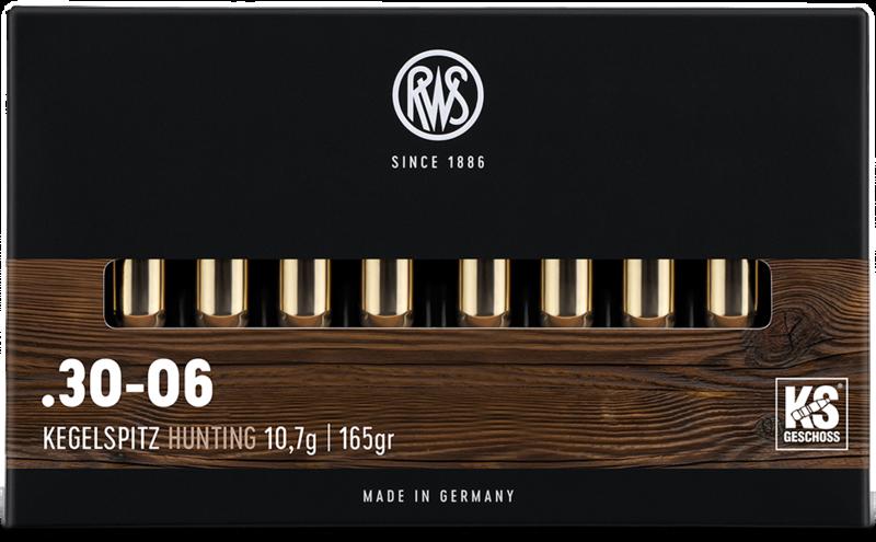 RWS KEGELSPITZ .30-06 13,0GR.